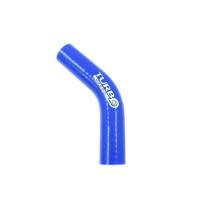 Szilikon szűkítő könyök TurboWorks Kék 45 fok 38-51mm